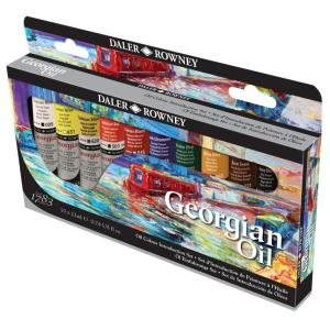 Georgian Oil Colour Introduction set